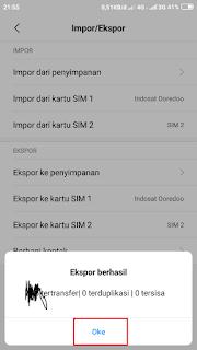 Cara Backup Kontak HP Xiaomi