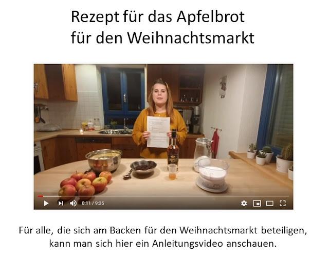 Videoanleitung Apfelbrot