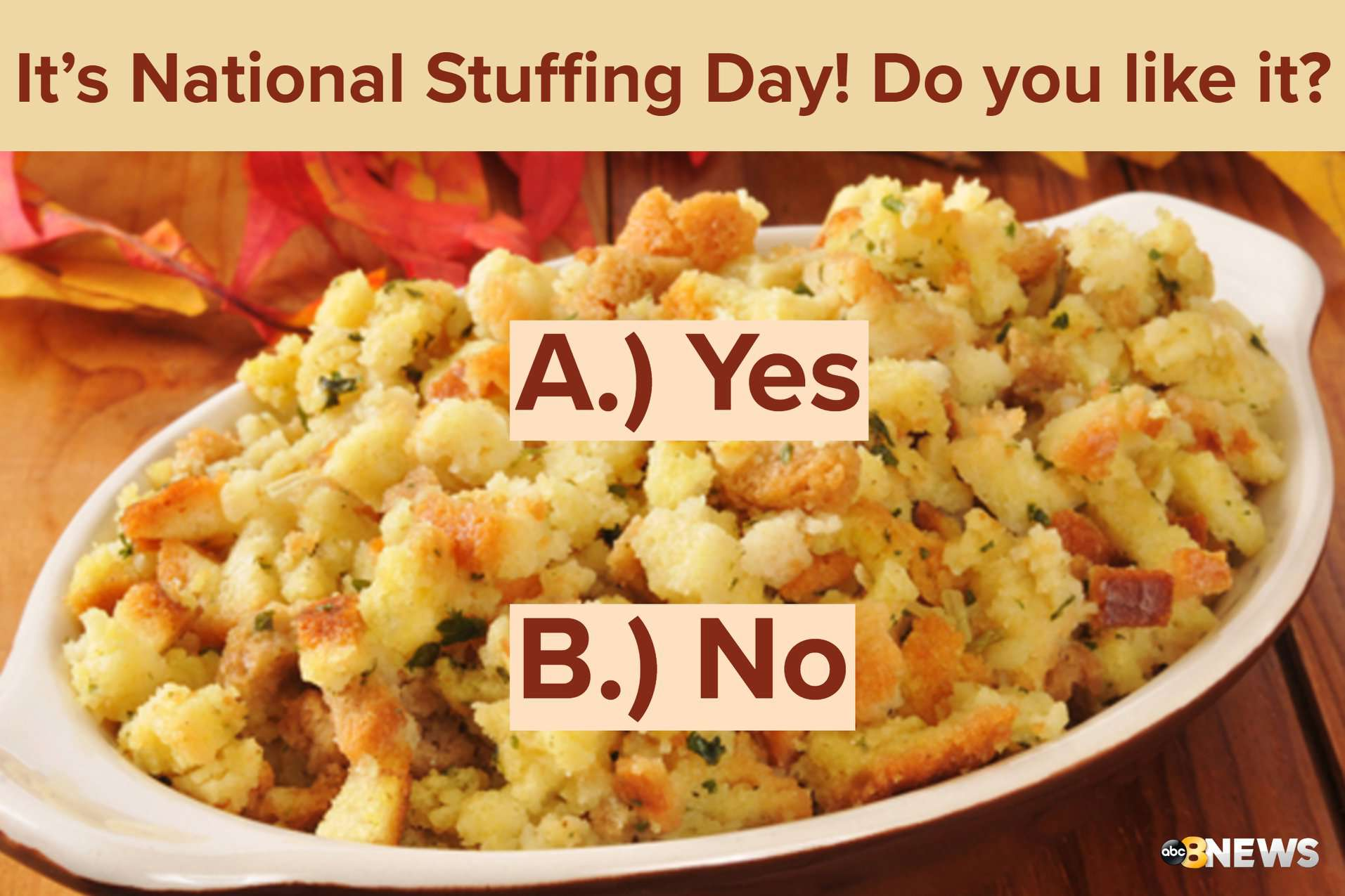 National Stuffing Day Wishes For Facebook