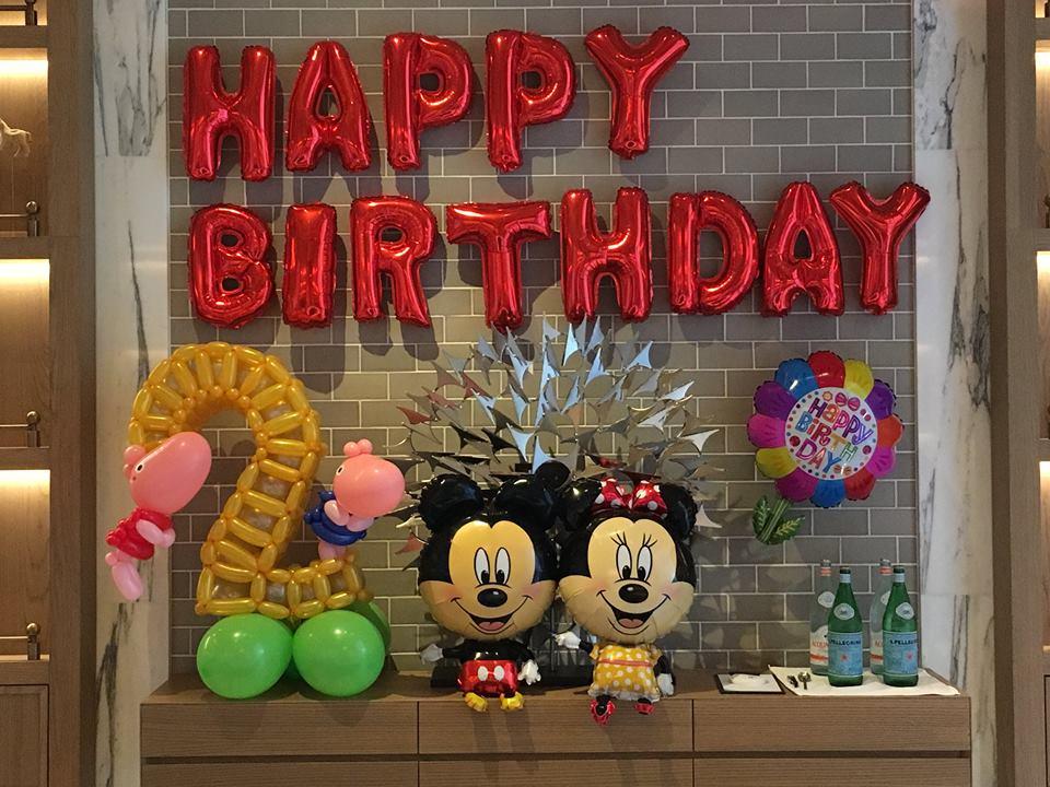 氣球生日派對佈置