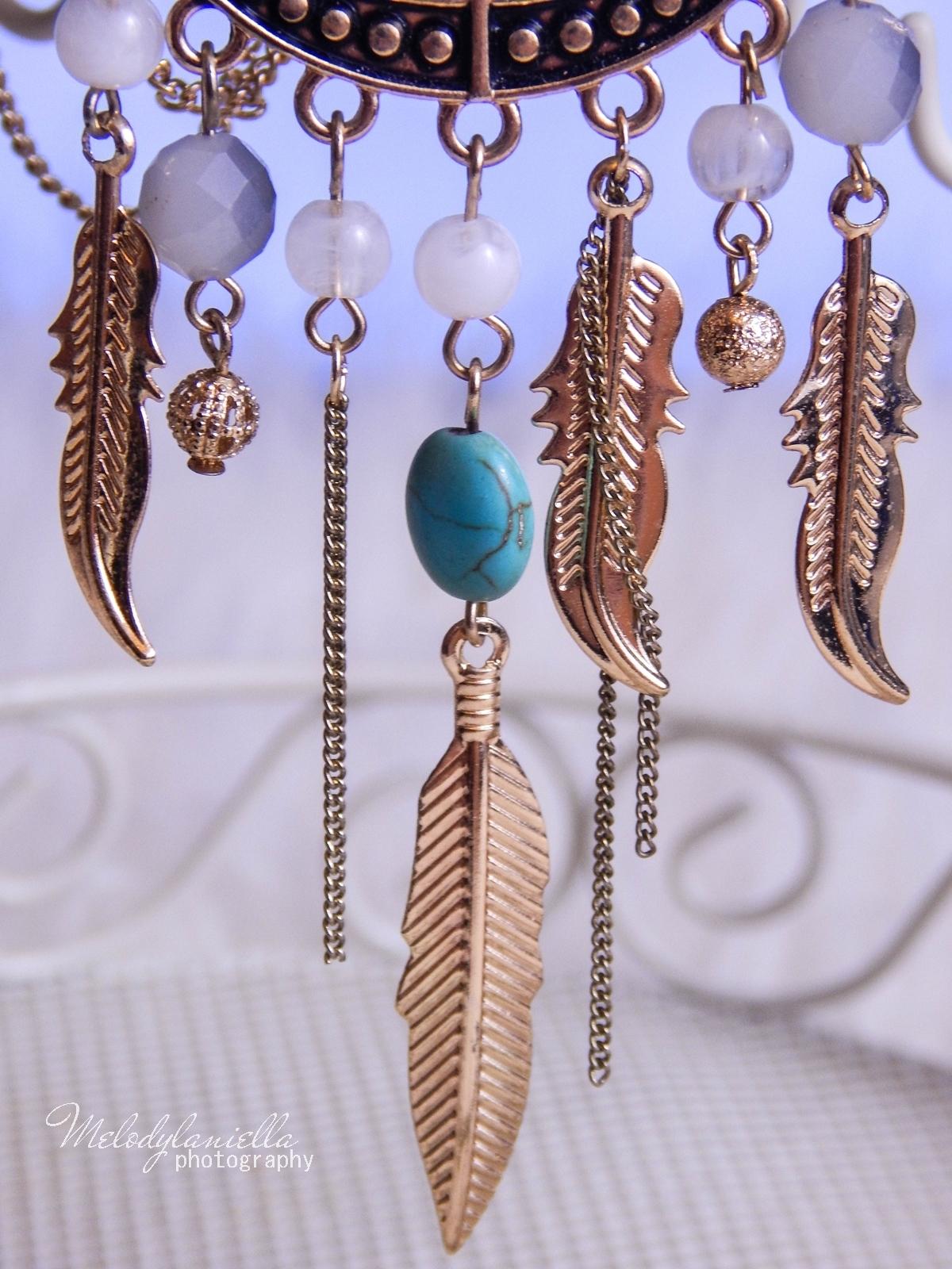 11 Biżuteria z chińskich sklepów sammydress kolczyk nausznica naszyjnik wisiorki z kryształkiem świąteczna biżuteria ciekawe dodatki stylowe zegarki pióra choker chokery złoty srebrny złoto srebro obelisk