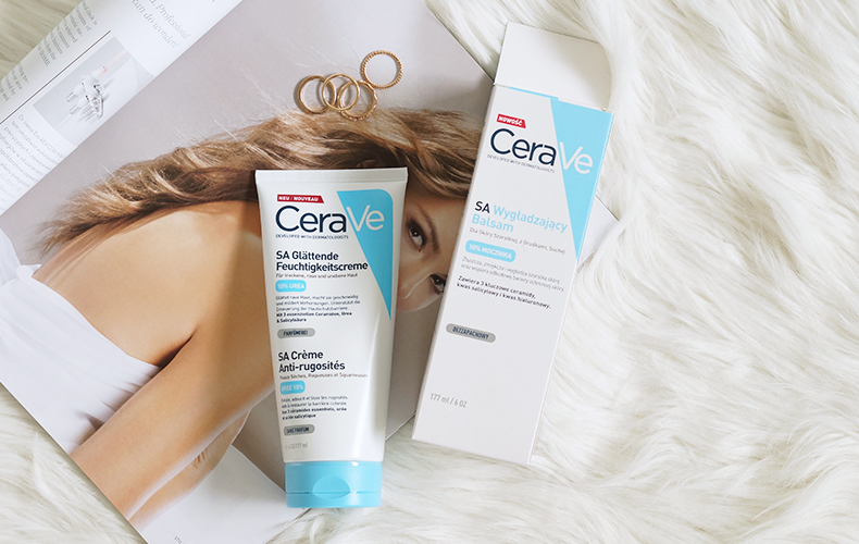 CeraVe - SA wygładzający balsam z 10% mocznikiem do skóry z rogowaceniem okołomieszkowym