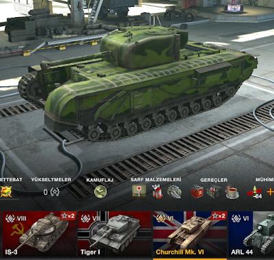 Churchill Mk. VI (Premium Tank)