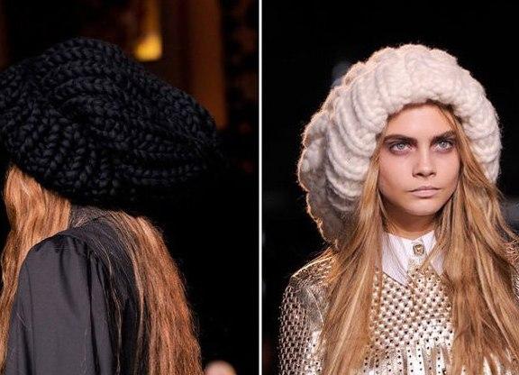 аксессуары и бижутерия стильный акцент модные шапки осень зима