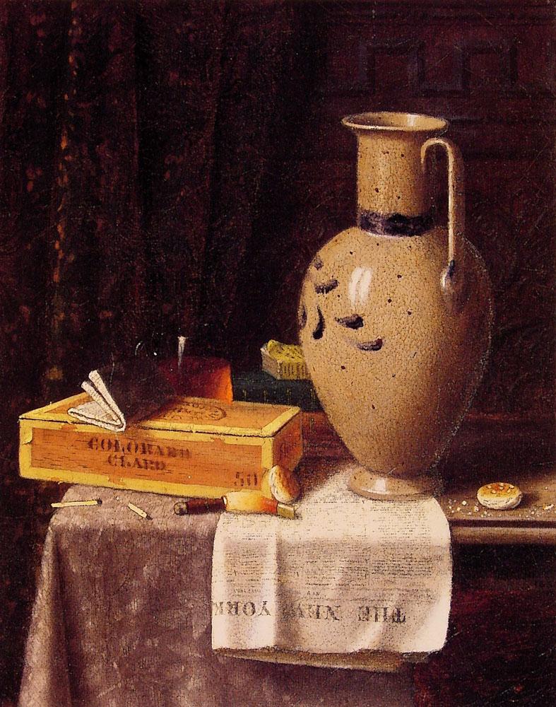 William Harnett | Trompe-l'œil still lifes painter | Tutt ...