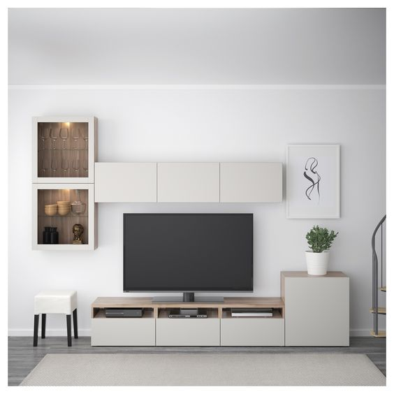 Wahbilly House Finishes 20 Outstanding Ideas For Tv Shelves To Design More Attractive Living Room