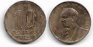 10 centavos, 1943