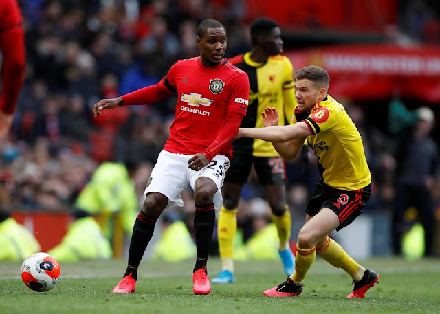 Odion Ighalo will be back in action tomorrow -Ole Gunnar Solskjaer confirms
