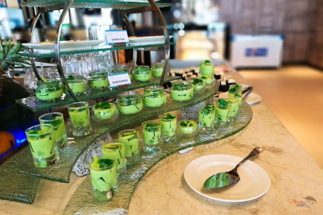 Buko Pandan desserts in Acea Subic Bay Hotel