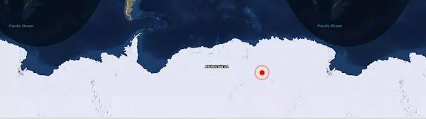 Una fuente de calor radiactiva esta derritiendo el hielo de la Antártida.