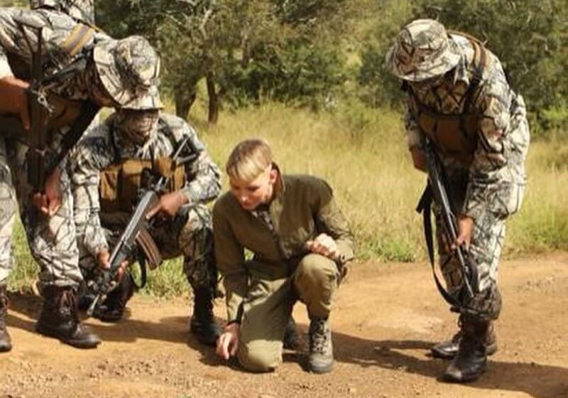 It was a safeguard operation, the rhino's horn is cut to prevent animals from being killed by poachers