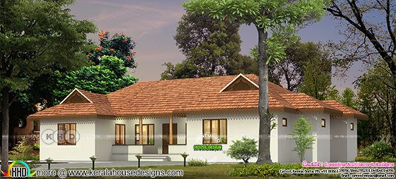 $45,000 cost estimated traditional Kerala home design