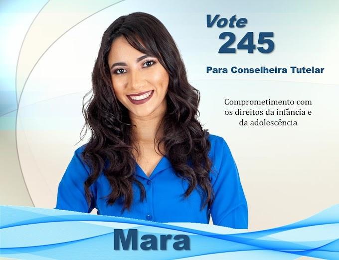 Eleições Conselho Tutelar: Candidata Mara