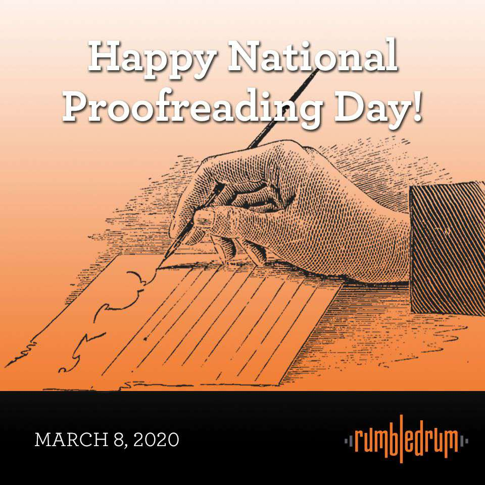 National Proofreading Day Wishes Awesome Picture