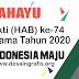 Desain Banner Spanduk HAB Kemenag 2020 cdr