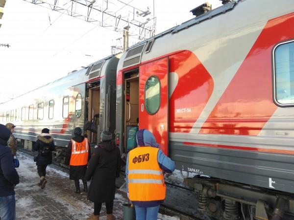 Шубохранилище РЖД и новые вагоны