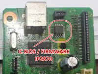 Cara Mengatasi Conon IP2870 Error 5B00 atau Blink 7x