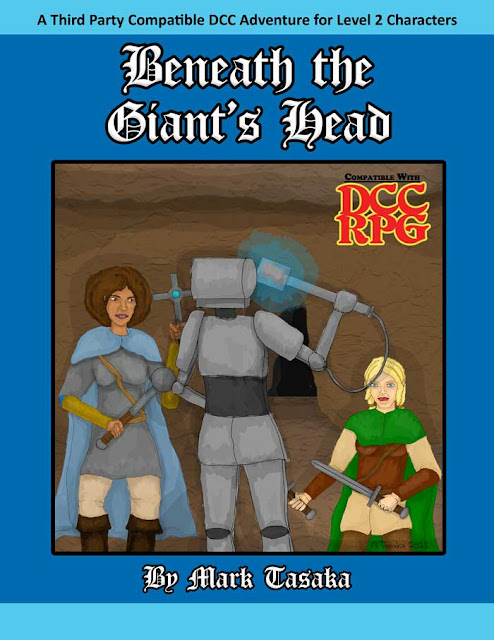 Dungeon Crawl Classics Beneath the Giant's Head adventure