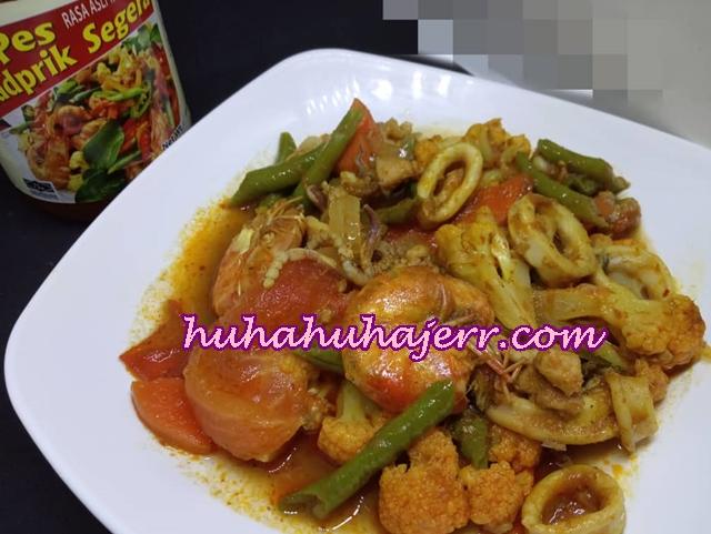 Masak Paprik Campur Dengan Sos Paprik Thai, Sedap Juga...