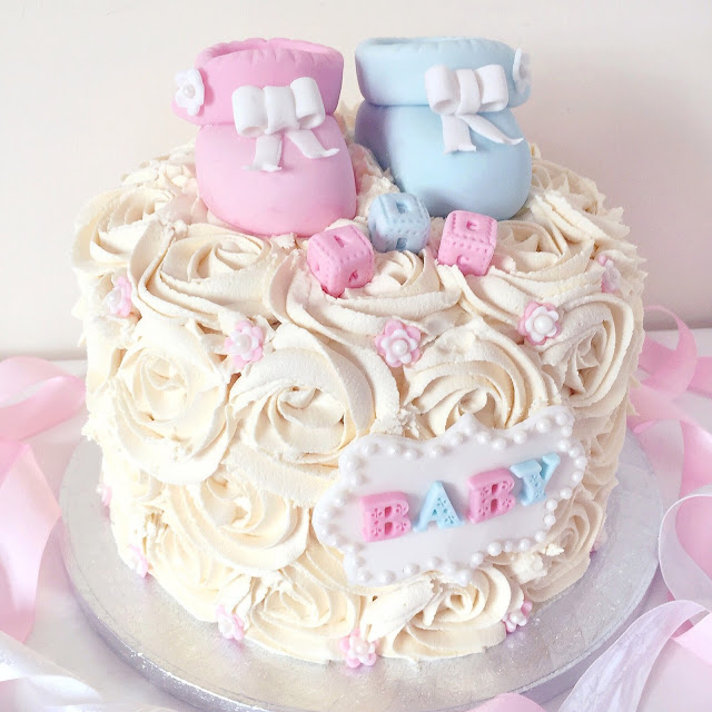 Love, Catherine | Baby Shower Cake