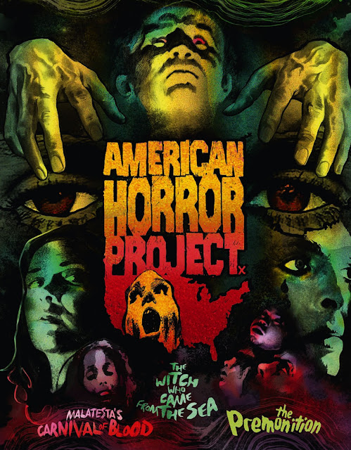 American Horror Project Volume 1 Blu-ray cover
