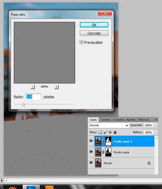 Tutorial Photoshop en Español Efecto Cine Paso 05