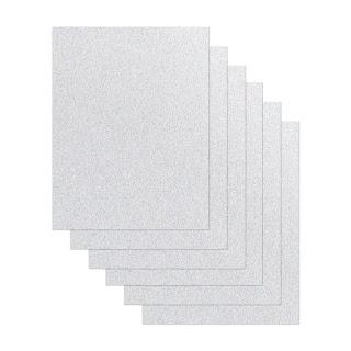 Cardstock SILVER GLITTER