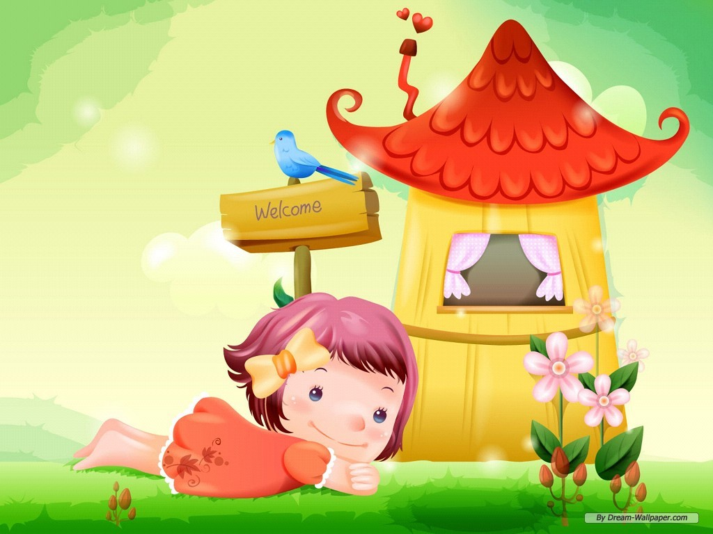 cute cartoon desktop wallpaper-#30