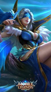 Pharsa Indigo Aviatrix Heroes Mage of Skins V2