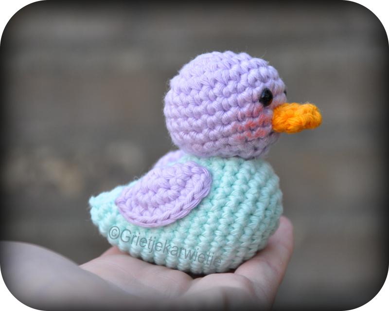 Grietjekarwietjeblogspotcom Haakpatroon Ducky