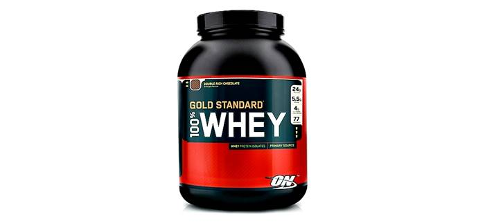 Proteína sin carbohidratos Gold Standard Whey de ON