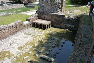 Los baños de Butrinto.