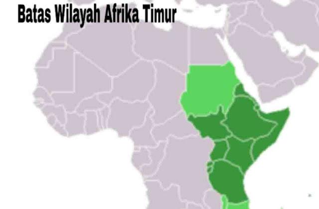 Batas Wilayah Afrika Timur