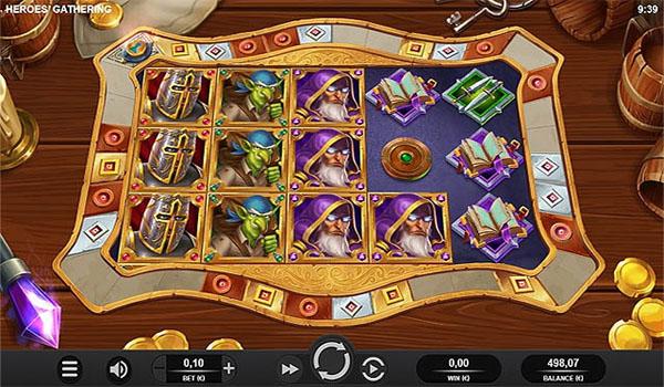 Main Gratis Slot Indonesia - Heroes Gathering Relax Gaming