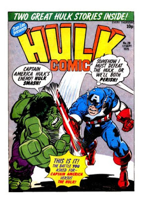 Hulk Comic #28, Captain America