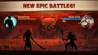 shadow fights 2 titan mod apk all weapons unlocked and no root