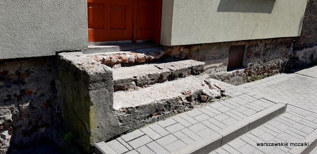 Targówek Warszawa Warsaw kamienica architektura ulica Ogińskiego schody