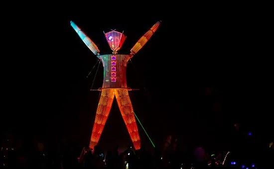 THE BURNING MAN FESTIVAL OF NEVADA