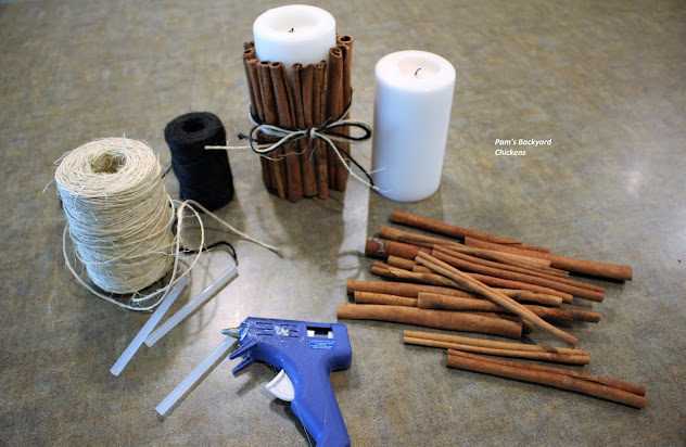 These DIY cinnamon stick candles will make your home smell beautiful and cover the range of holidays from Thanksgiving through Christmas and beyond.