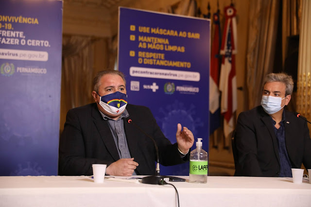 Governo de Pernambuco realiza balanço dos oito meses de enfrentamento à Covid-19