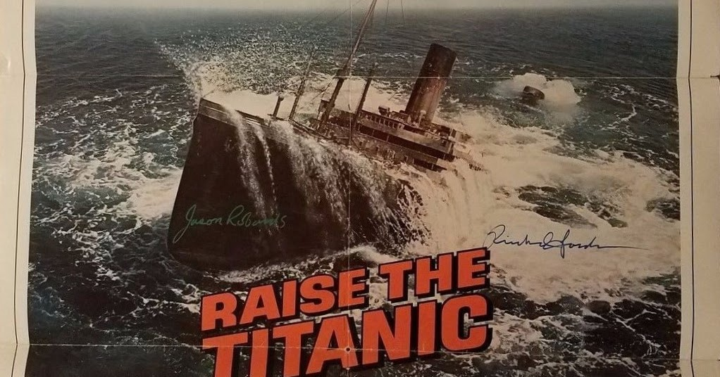 Clive Cussler Book Collecting Raise The Titanic Movie