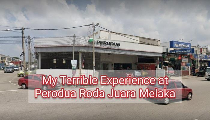 Terrible Service at Perodua Roda Juara Automobile Taman IKS Merdeka