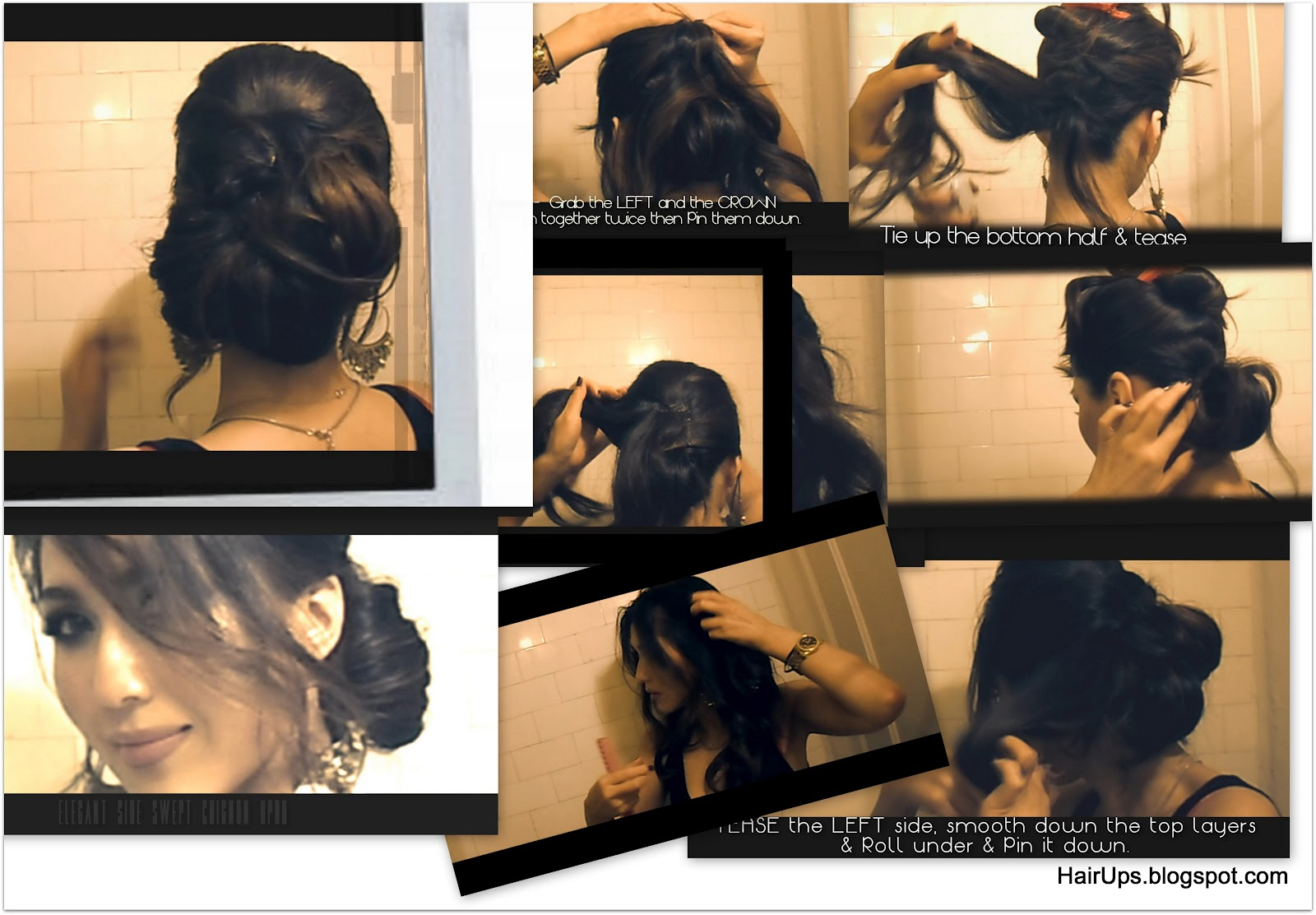 Easy Wedding Hairstyles Updo How To Chignon Coiffure Low Sock Bun Makeupwearables