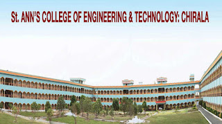 St. Ann's College of Engineering & Technology, [SACET] Chirala Ranking Details, Fees Format and Placements Info
