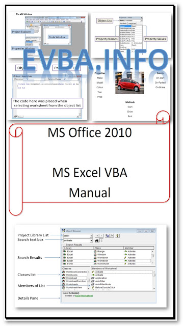 Free Ebook MS EXCEL VBA MANUAL[PDF FILE FREE DOWNLOAD