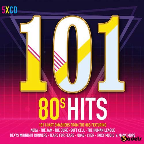 Download 101 80s Hits 5CD (2017), Baixar 101 80s Hits 5CD (2017)