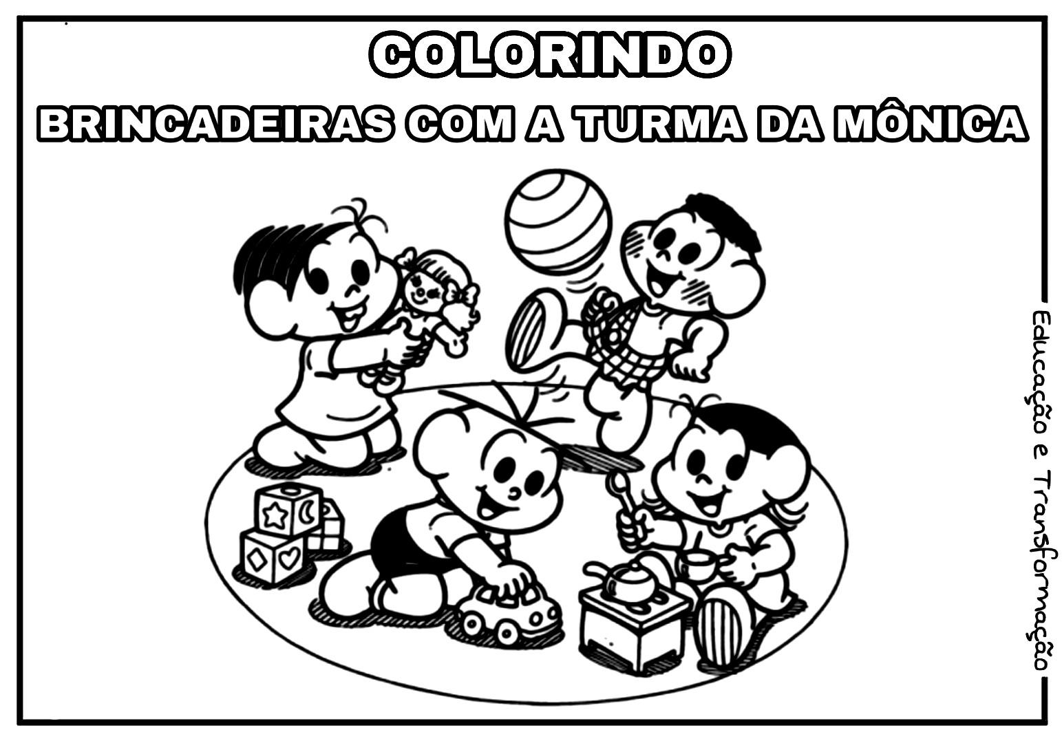 Blog Educacao E Transformacao Colorindo Brincadeiras Com A
