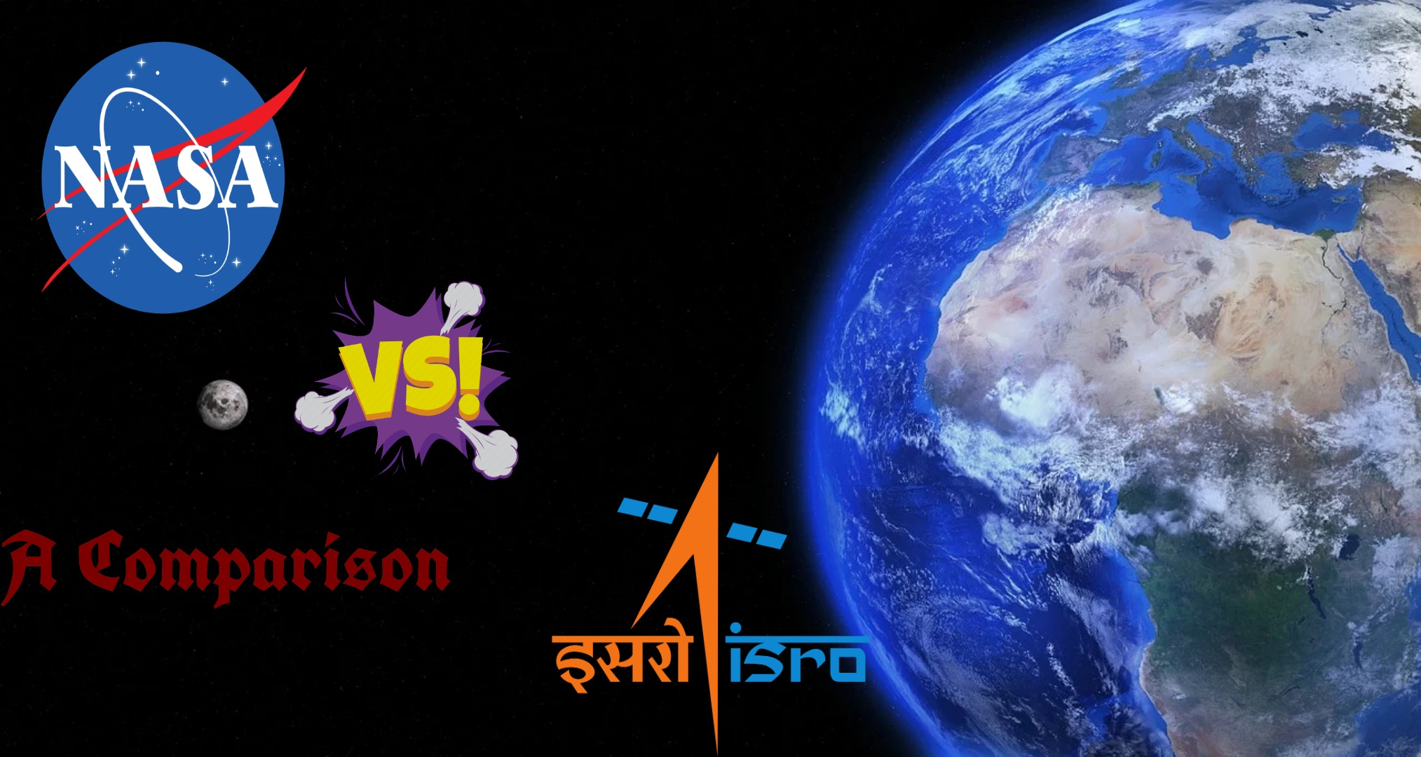 Nasa vs isro