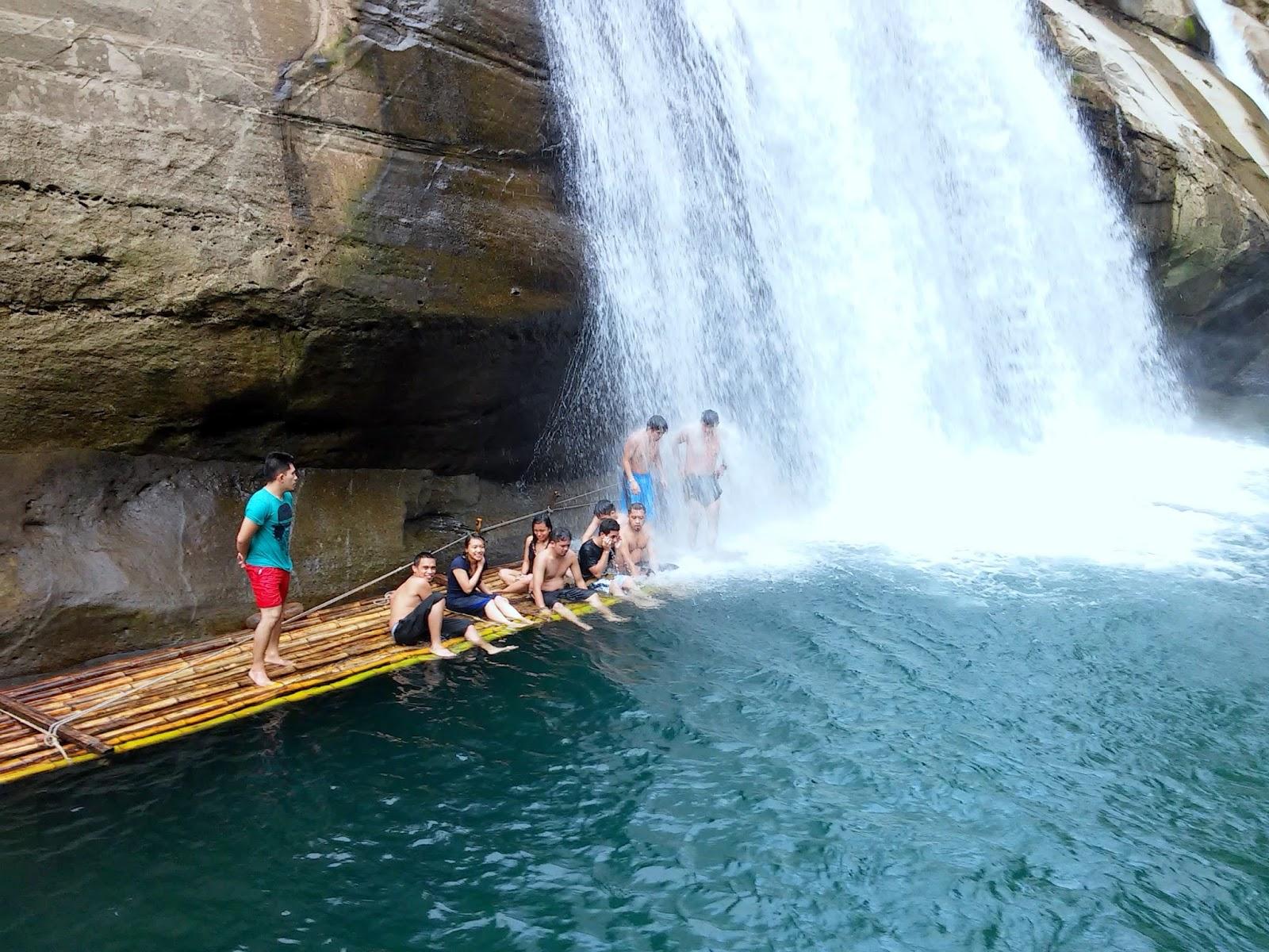 Tangan Falls Basin
