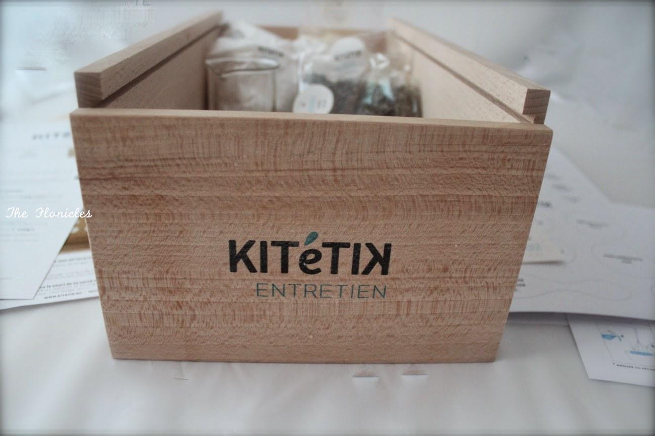 Kitétik Entretien, kit pour fabriquer ses produits ménagers